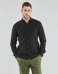 Clothing Men Long-sleeved shirts HUGO ERMO Black