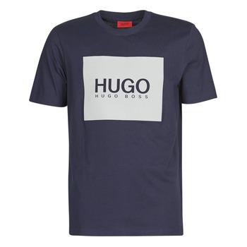 Clothing Men Short-sleeved t-shirts HUGO DOLIVE Marine