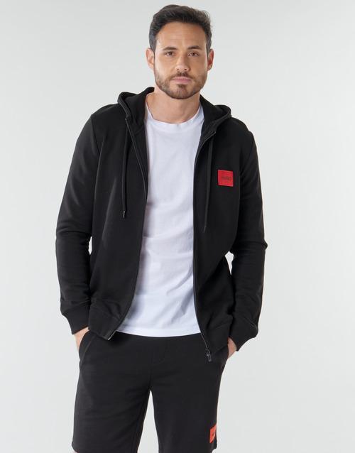 Clothing Men Sweaters HUGO DAPLE Black