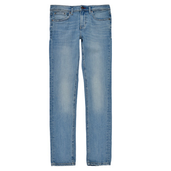 Clothing Boy Skinny jeans Teddy Smith FLASH Blue