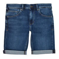 Clothing Boy Shorts / Bermudas Teddy Smith SCOTTY 3 Blue / Dark