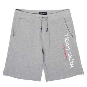 Clothing Boy Shorts / Bermudas Teddy Smith S-MICKAEL Grey