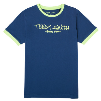 Clothing Boy Short-sleeved t-shirts Teddy Smith TICLASS 3 Marine