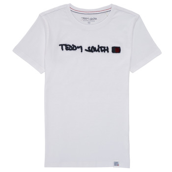 Clothing Boy Short-sleeved t-shirts Teddy Smith TCLAP White