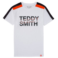 Clothing Boy Short-sleeved t-shirts Teddy Smith T-MACK White
