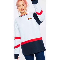Clothing Women Sweaters Ellesse JUNO SWEATSHIRT SGC07327 White