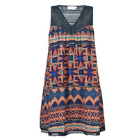 Clothing Women Short Dresses Molly Bracken R1375BE21 Multicolour