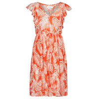 Clothing Women Short Dresses Molly Bracken LA608E21 White / Orange