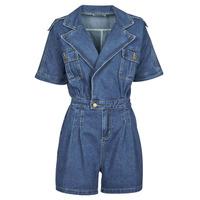 Clothing Women Jumpsuits / Dungarees Molly Bracken EL1261P21 Blue