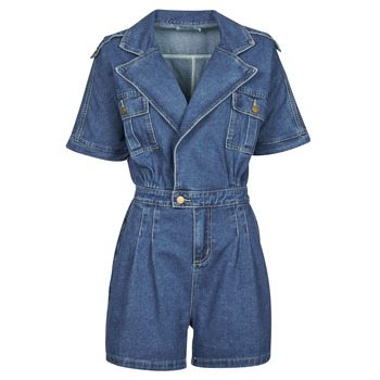 Clothing Women Jumpsuits / Dungarees Molly Bracken EL1261P21 Blue