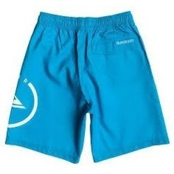 Clothing Children Trunks / Swim shorts Quiksilver ECLIPSE VL AQBJV03011 Blue