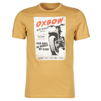 Clothing Men Short-sleeved t-shirts Oxbow N1TOBIL Brown