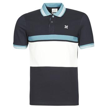 Clothing Men Short-sleeved polo shirts Oxbow N1NIREMO Marine