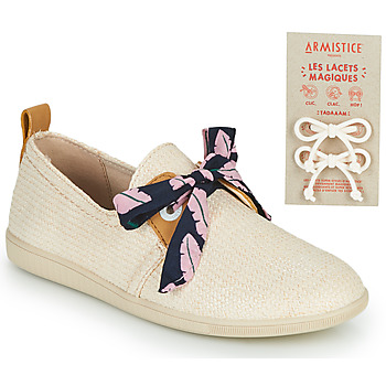 Shoes Children Low top trainers Armistice STONE ONE Pink