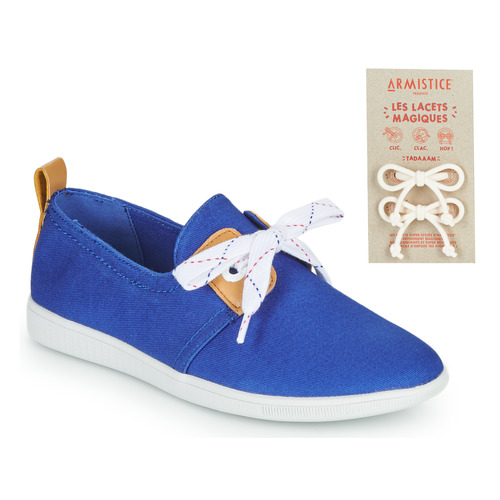 Shoes Children Low top trainers Armistice STONE ONE Blue