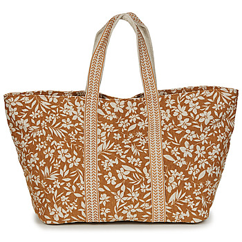 Bags Women Shopping Bags / Baskets Petite Mendigote MIA TIVOLI Yellow / Beige