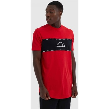 Clothing Men Short-sleeved t-shirts Ellesse SESIA TEE SHE08570 Red