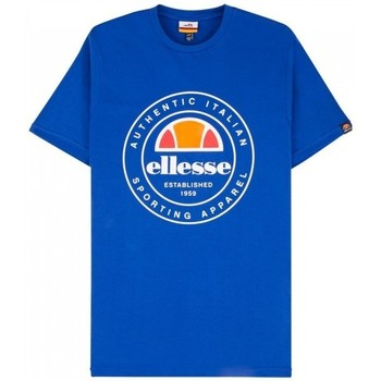 Clothing Men Short-sleeved t-shirts Ellesse Vettorio SHC05901 Blue