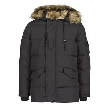 Clothing Men Parkas Schott SNORKLAND Black