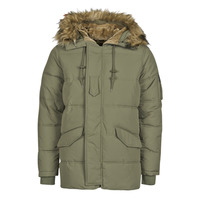 Clothing Men Parkas Schott SNORKLAND Kaki