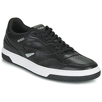 Shoes Men Low top trainers HUGO SWITON TENN FL Black