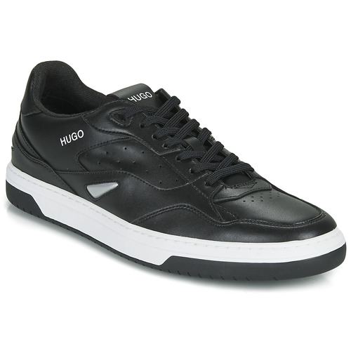 Shoes Men Low top trainers HUGO SWITON TENN FL Black