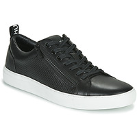 Shoes Men Low top trainers HUGO FUTURISM TENN ITEM1 Black