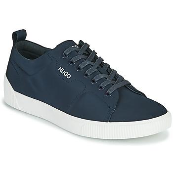Shoes Men Low top trainers HUGO ZERO TENN NYPU Marine