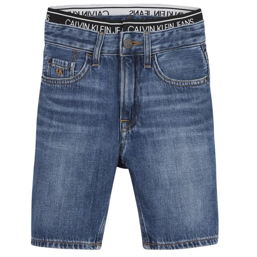 Clothing Boy Shorts / Bermudas Calvin Klein Jeans AUTHENTIC LIGHT WEIGHT Blue