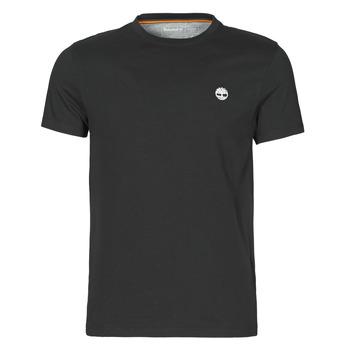 Clothing Men Short-sleeved t-shirts Timberland SS DUNSTAN RIVER POCKET TEE SLIM Black