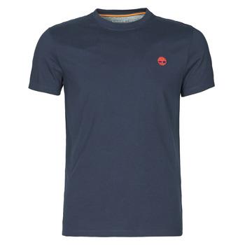 Clothing Men Short-sleeved t-shirts Timberland SS DUNSTAN RIVER POCKET TEE SLIM Marine