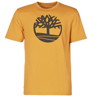 Clothing Men Short-sleeved t-shirts Timberland SS KENNEBEC RIVER BRAND TREE TEE Camel