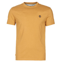 Clothing Men Short-sleeved t-shirts Timberland SS DUNSTAN RIVER POCKET TEE SLIM Beige