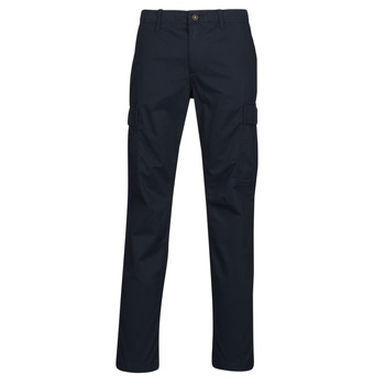 Clothing Men Cargo trousers Timberland CORE TWILL CARGO PANT Marine