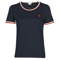 Clothing Women Short-sleeved t-shirts U.S Polo Assn. COLLYN TEE SS Blue / Red / White