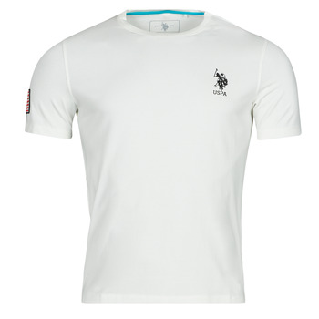 Clothing Men Short-sleeved t-shirts U.S Polo Assn. NEW FRANCES TEE White
