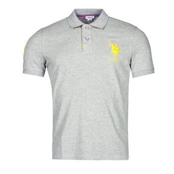 Clothing Men Short-sleeved polo shirts U.S Polo Assn. NEW HORSE POLO Grey
