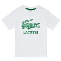 Clothing Boy Short-sleeved t-shirts Lacoste TJ1965-001 White