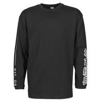 Clothing Men Long sleeved tee-shirts Urban Classics TB4140 Black