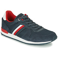 Shoes Men Low top trainers Tommy Hilfiger ICONIC MATERIAL MIX RUNNER Marine