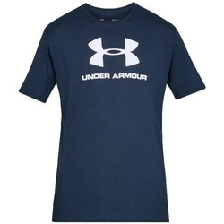 Clothing Men Short-sleeved t-shirts Under Armour Sportstyle Logo Tee Navy blue