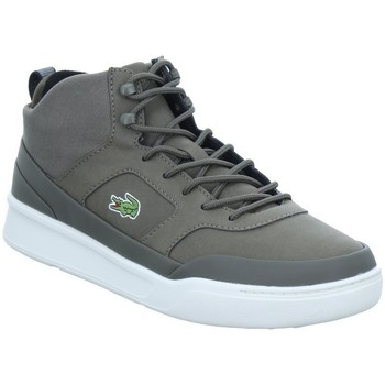 Shoes Men Hi top trainers Lacoste Explorateur Spt Mid White, Grey