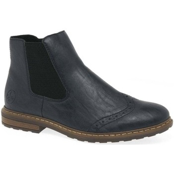 Shoes Women Mid boots Rieker Lennon Womens Chelsea Boots blue