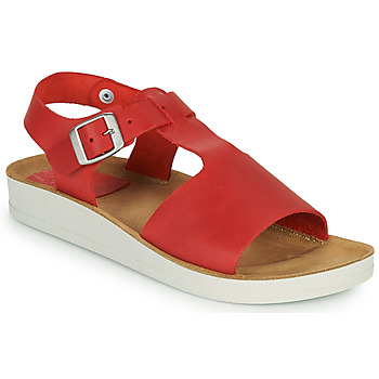Shoes Women Sandals Kickers ODILOO Red