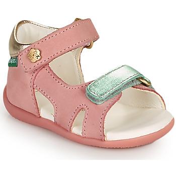 Shoes Girl Sandals Kickers BINSIA-2 Pink