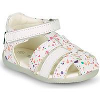 Shoes Girl Sandals Kickers BIGFLO-2 White