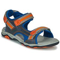 Shoes Boy Sandals Kickers KIWI Blue / Orange