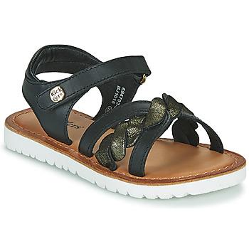 Shoes Girl Sandals Kickers BETTYL Black