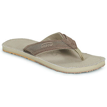 Shoes Men Flip flops Oxbow VALLY Beige