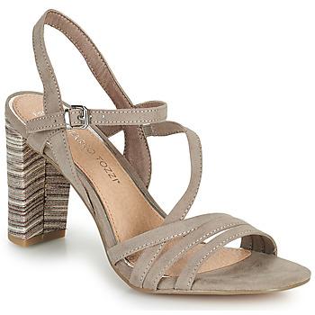 Shoes Women Sandals Marco Tozzi BALEINA Beige